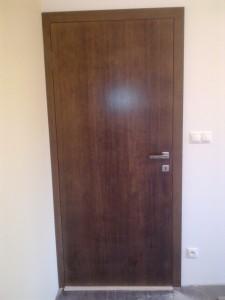 Interiérové dvere bezfalcové dyhované