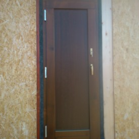 Terasové dvere s plnou hladkou kazetou