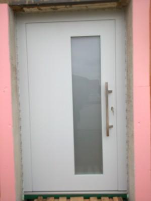 Vchodové dvere panelové - bezfalcov