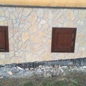 Drevené okná, okenice