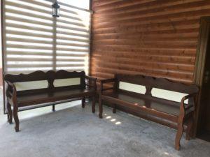 Drevená lavica