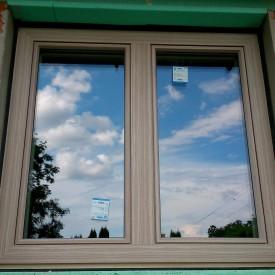 Drevohliníkové okno, profil EURO IV92 - LINEAR
