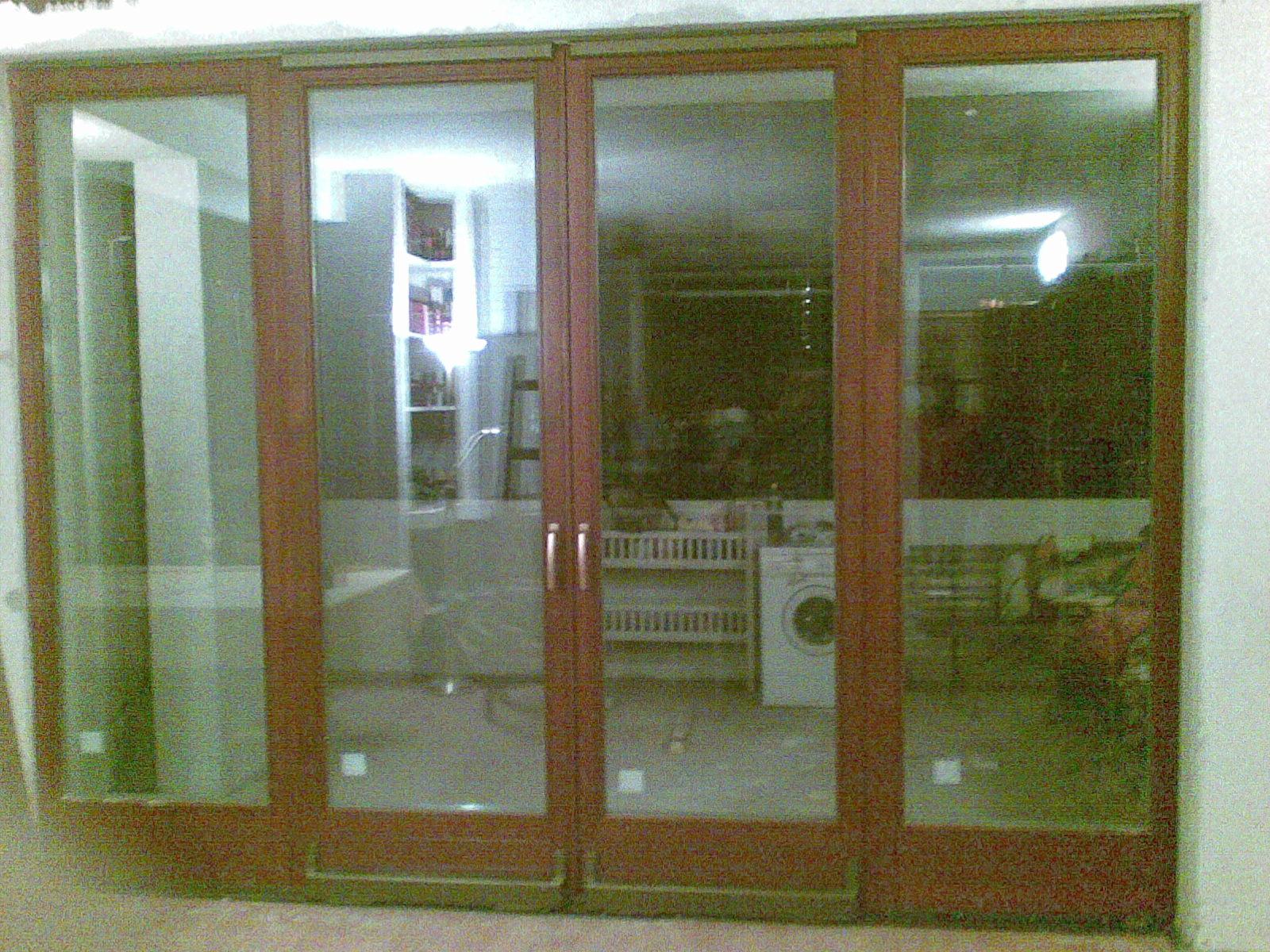 Posuvno sklopné terasové dvere