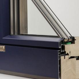 Drevohliníkové okná, profil EURO IV92 - LINEAR