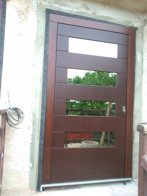 Vchodové dvere bezfalcové