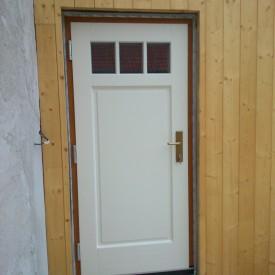 Vchodové dvere kazetové, profil EURO IV92 Softline - dvojfarebné