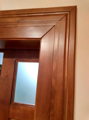Ozdobná obložka na interiérové dvere