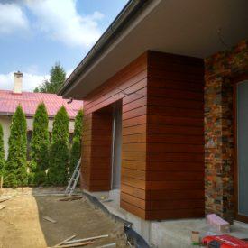 Drevený obklad fasády