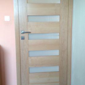 Interiérové dvere dyhované - bezfalcové