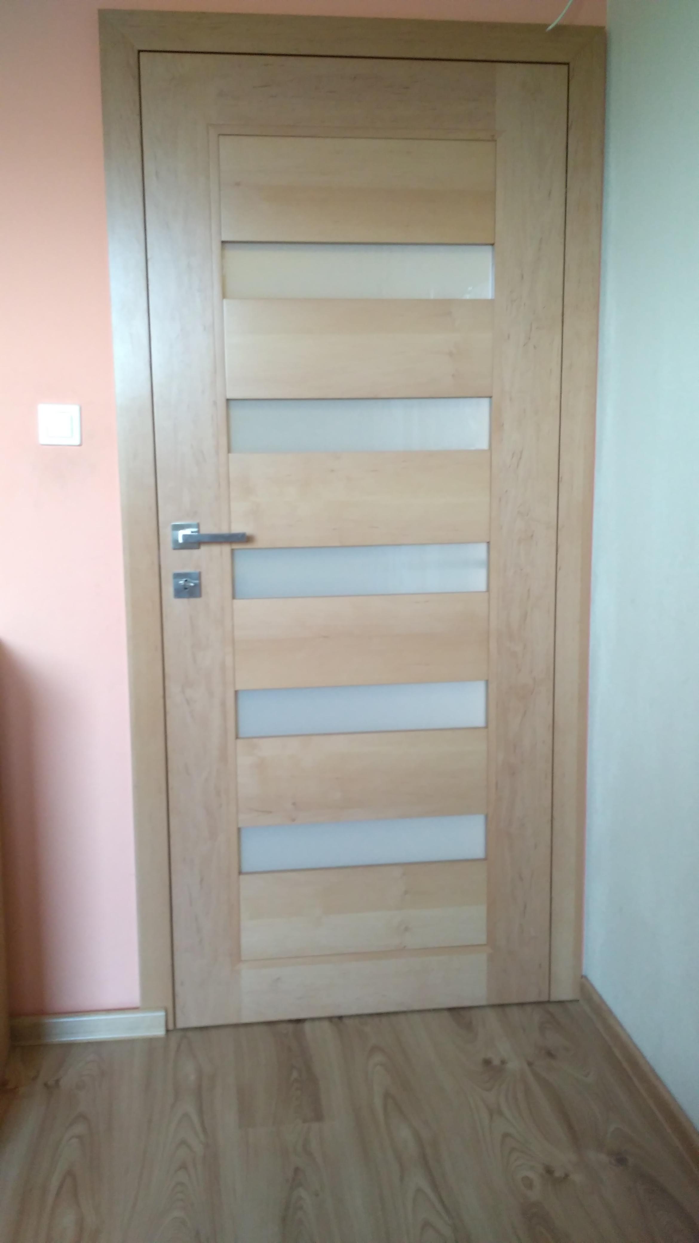 Interiérové dvere dyhované – bezfalcové