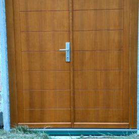 Vchodové dvere dvojkrídlové - panelové