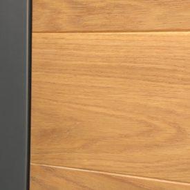 Vchodové dvere panelové - bezfalcové - detail